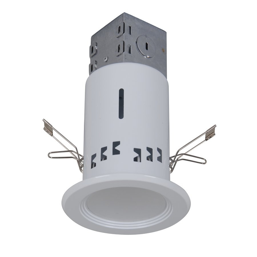 Best ideas about Recessed Lighting Led . Save or Pin Utilitech White LED Remodel Recessed Light Kit Fits Now.