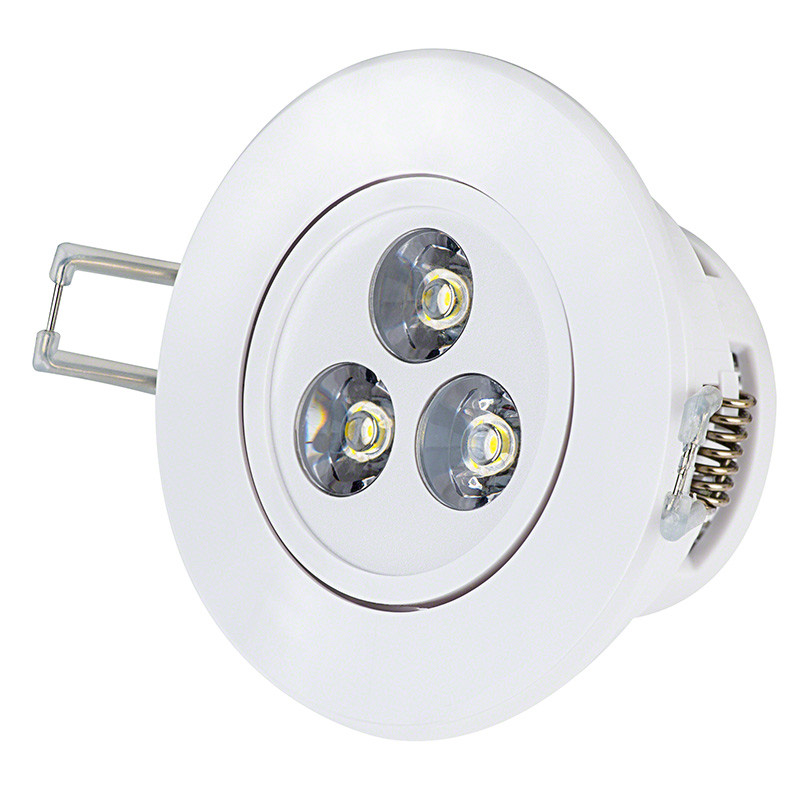 Best ideas about Recessed Lighting Led . Save or Pin 3 Watt LED Recessed Light Fixture Aimable 200 Lumens Now.