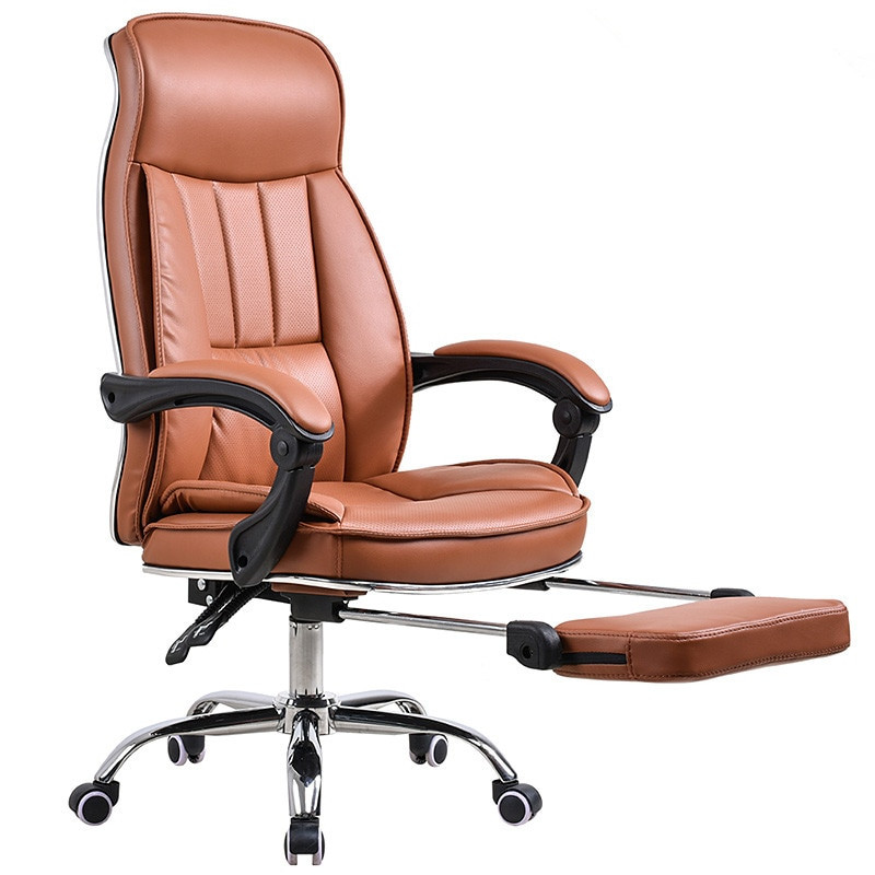 Best ideas about Reclining Office Chair With Footrest . Save or Pin Big Tall Deluxe Reclining fice Chair with Footrest Stool Now.