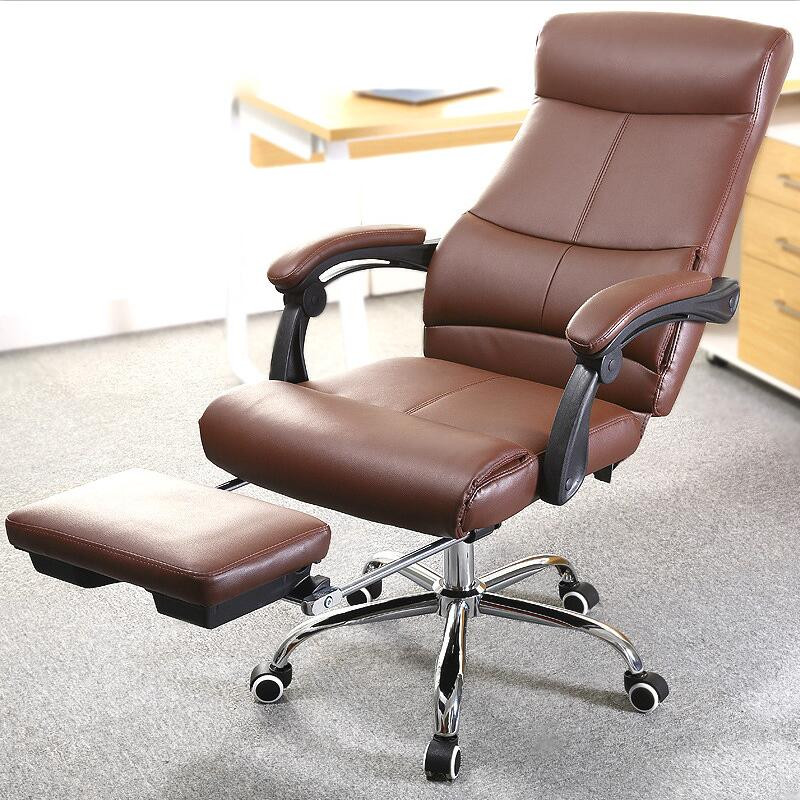 Best ideas about Reclining Office Chair With Footrest . Save or Pin fortable Swivel fice Chair Reclining Lying puter Now.