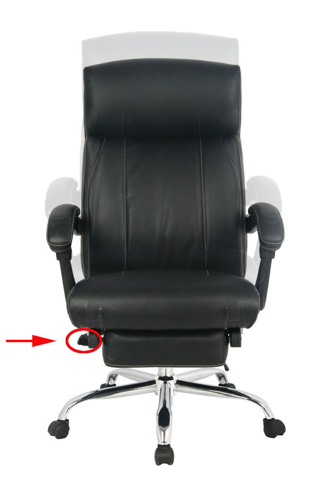 Best ideas about Reclining Office Chair With Footrest . Save or Pin Reclining fice Chair High Back Bonded Leather Chair Now.