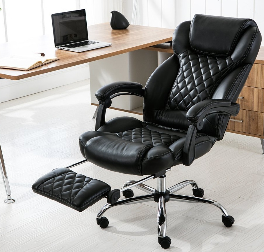 Best ideas about Reclining Office Chair With Footrest . Save or Pin Reclining fice Chair with Footrest – 7 Gad s Now.