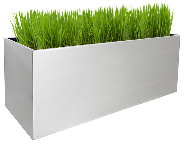 Best ideas about Rectangular Indoor Planter . Save or Pin NMN Designs Madeira Rectangle Planter View in Your Now.
