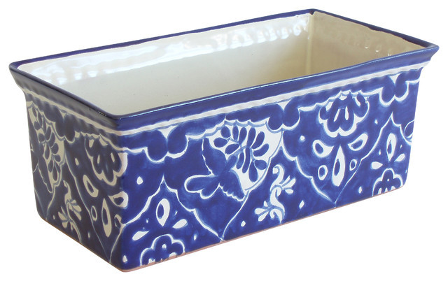 Best ideas about Rectangular Indoor Planter . Save or Pin Rectangular Paloma Planter Traditional Indoor Pots And Now.