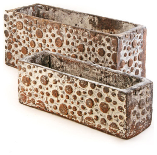 Best ideas about Rectangular Indoor Planter . Save or Pin Bubble Design Rectangular Planters Traditional Indoor Now.