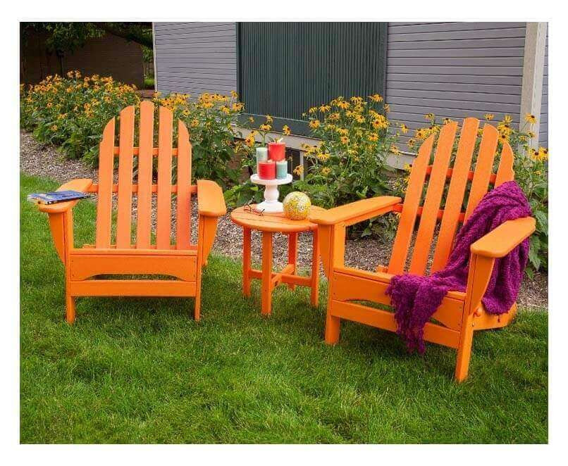 Best ideas about Recycled Plastic Patio Furniture . Save or Pin Adirondack Recycled Plastic Patio Chair from Polywood 37 Now.