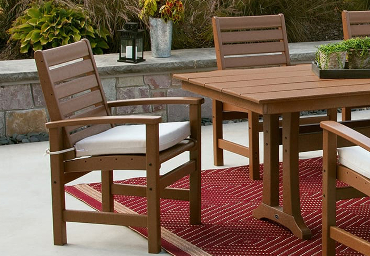 Best ideas about Recycled Plastic Patio Furniture . Save or Pin Signature Recycled Patio Furniture Now.