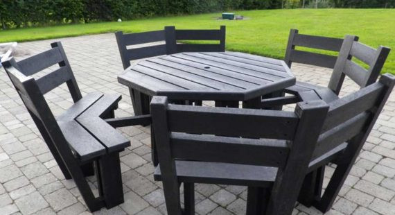 Best ideas about Recycled Plastic Patio Furniture . Save or Pin Maintenance Free Plastic Products Murray s Recycled Plastic Now.