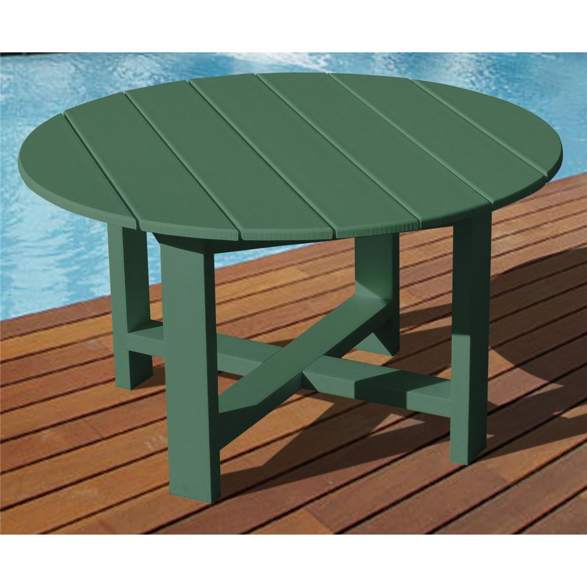 "Best ideas about Recycled Plastic Patio Furniture . Save or Pin VIFAH Recycled Plastic 40"" Outdoor Conversation Table Now."