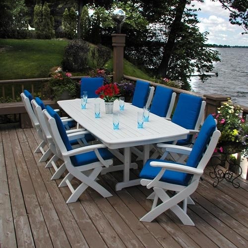 Best ideas about Recycled Plastic Patio Furniture . Save or Pin Dining Table Recycled Plastic Outdoor Dining Table Now.