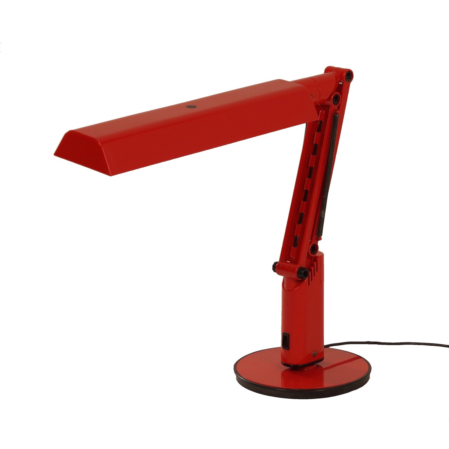 Best ideas about Red Desk Lamp . Save or Pin Vintage Red Lucifer Desk Lamp by Fagerhults 1970s Now.