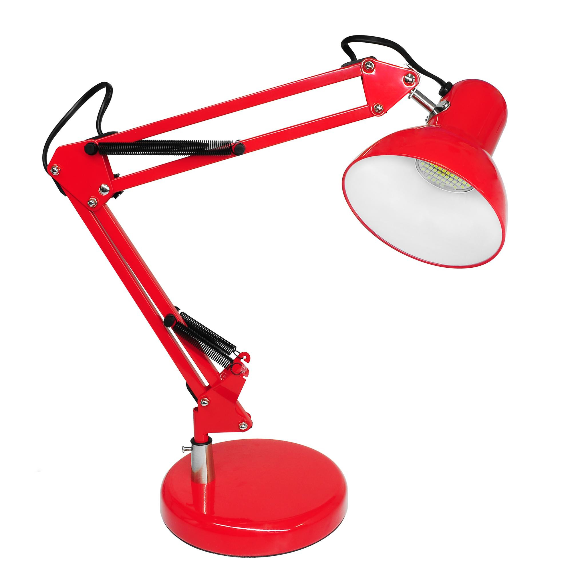 Best ideas about Red Desk Lamp . Save or Pin Angle Desk Lamp & LED GU10 240V Red 5W Now.