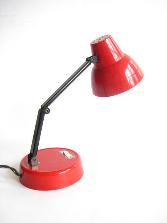 Best ideas about Red Desk Lamp . Save or Pin Small Red High Intensity Desk Lamp Now.