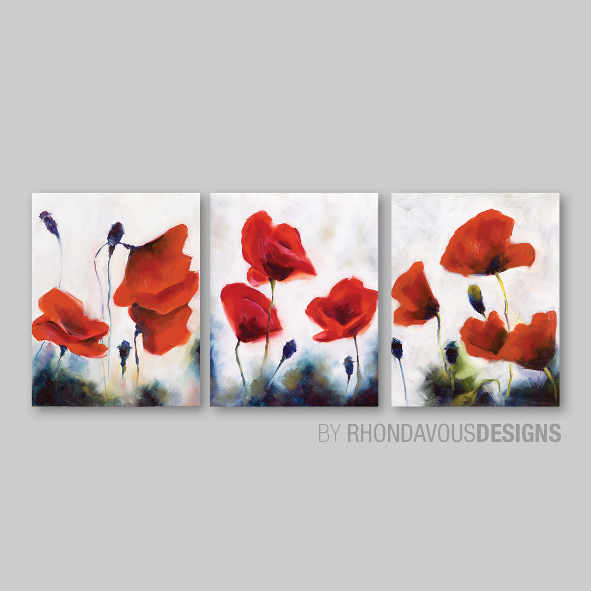 Best ideas about Red Wall Art . Save or Pin Red Poppy Wall Art Red Poppy Painting Reprint Home Decor Now.
