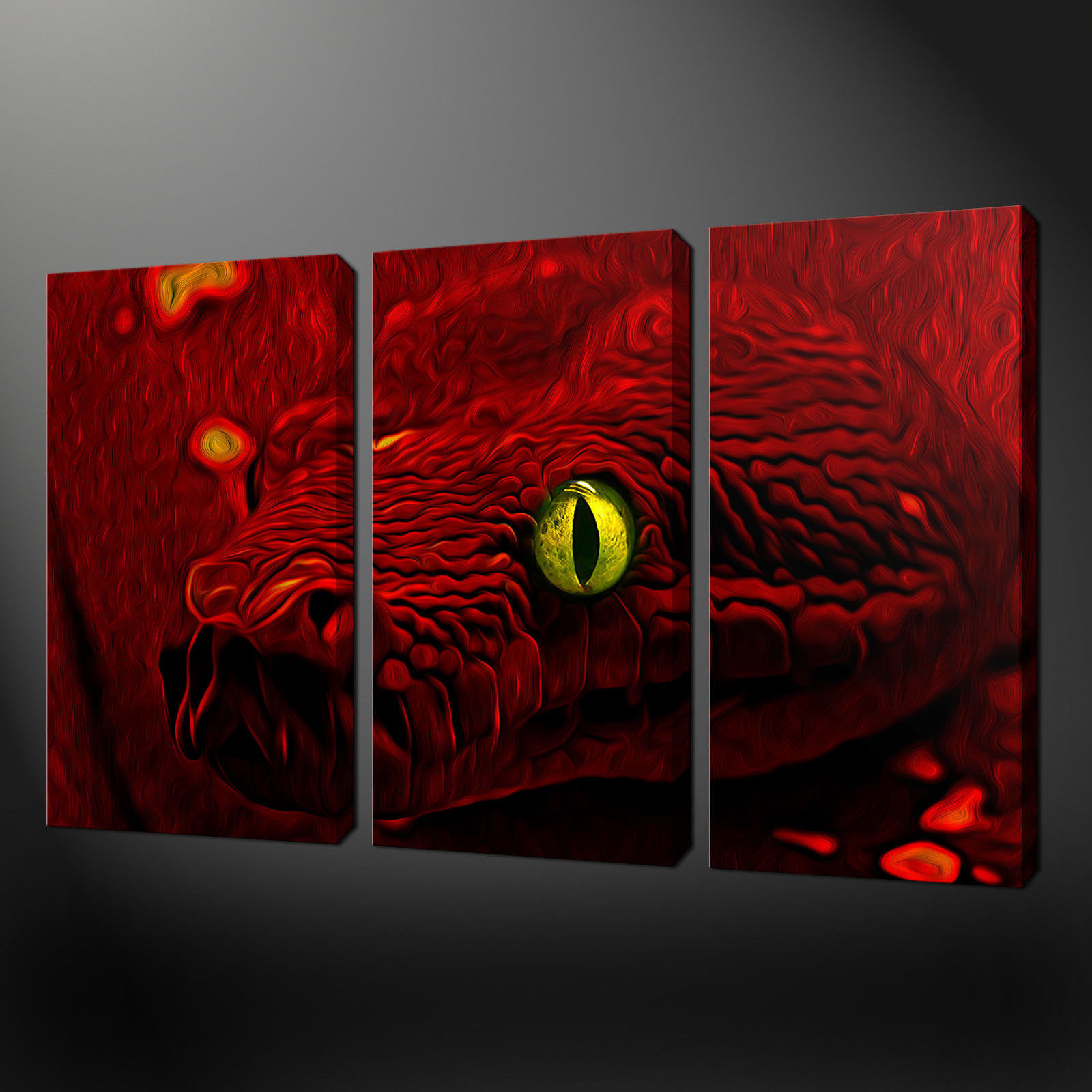 Best ideas about Red Wall Art . Save or Pin Canvas print pictures High quality Handmade Free next Now.