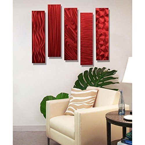 Best ideas about Red Wall Art . Save or Pin Daring Bold and Modern Red Wall Art Now.