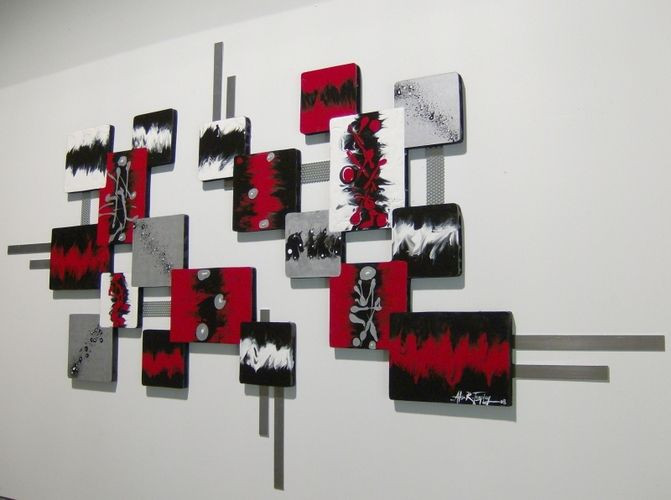 Best ideas about Red Wall Art . Save or Pin Best 25 Grey red bedrooms ideas on Pinterest Now.