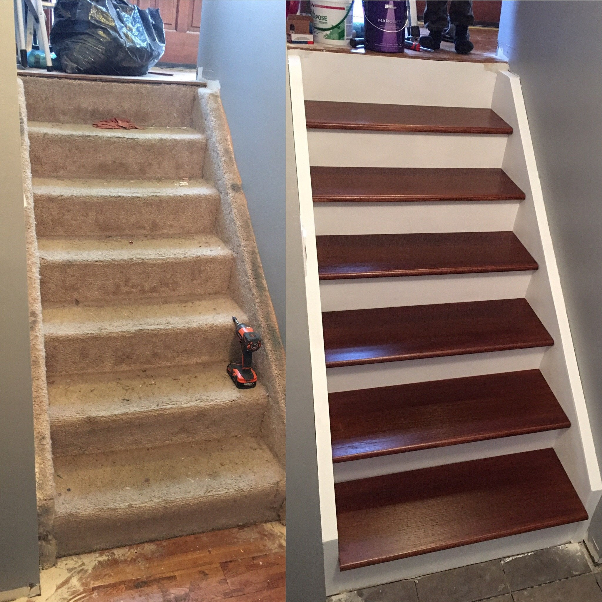 Best ideas about Reddit The Staircase . Save or Pin Refinished Stairs pics Now.