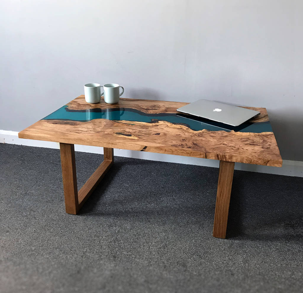 Best ideas about Resin Coffee Table . Save or Pin resin river coffee table with wooden legs by revive Now.