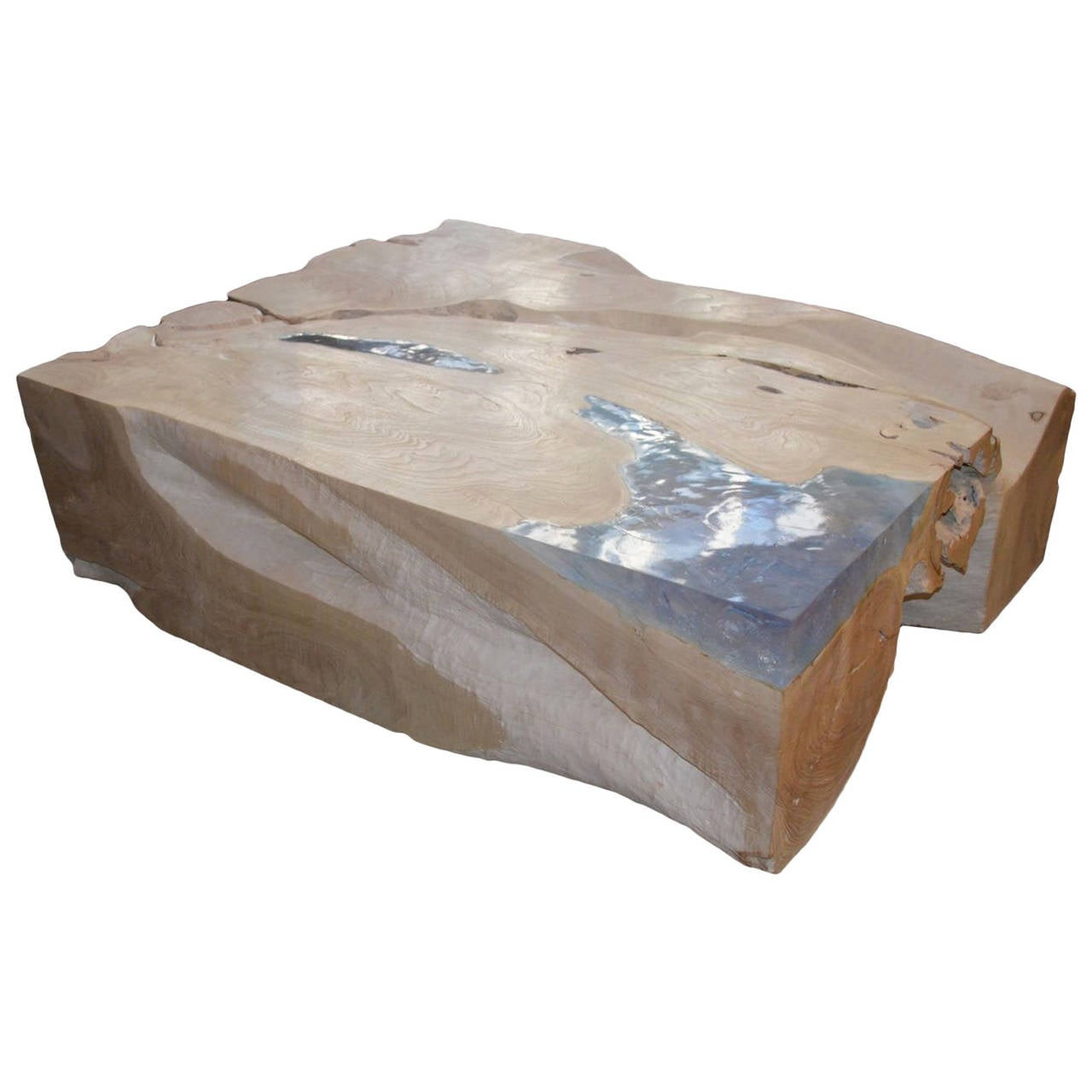 Best ideas about Resin Coffee Table . Save or Pin Andrianna Shamaris St Barts Bleached Teak Wood and Aqua Now.