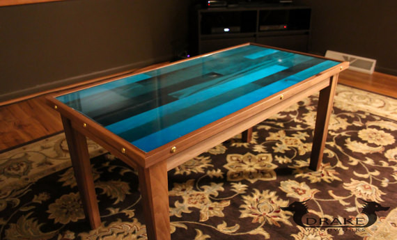 Best ideas about Resin Coffee Table . Save or Pin Epoxy Resin Coffee Table Butcher Block – Drake Woodworks Now.