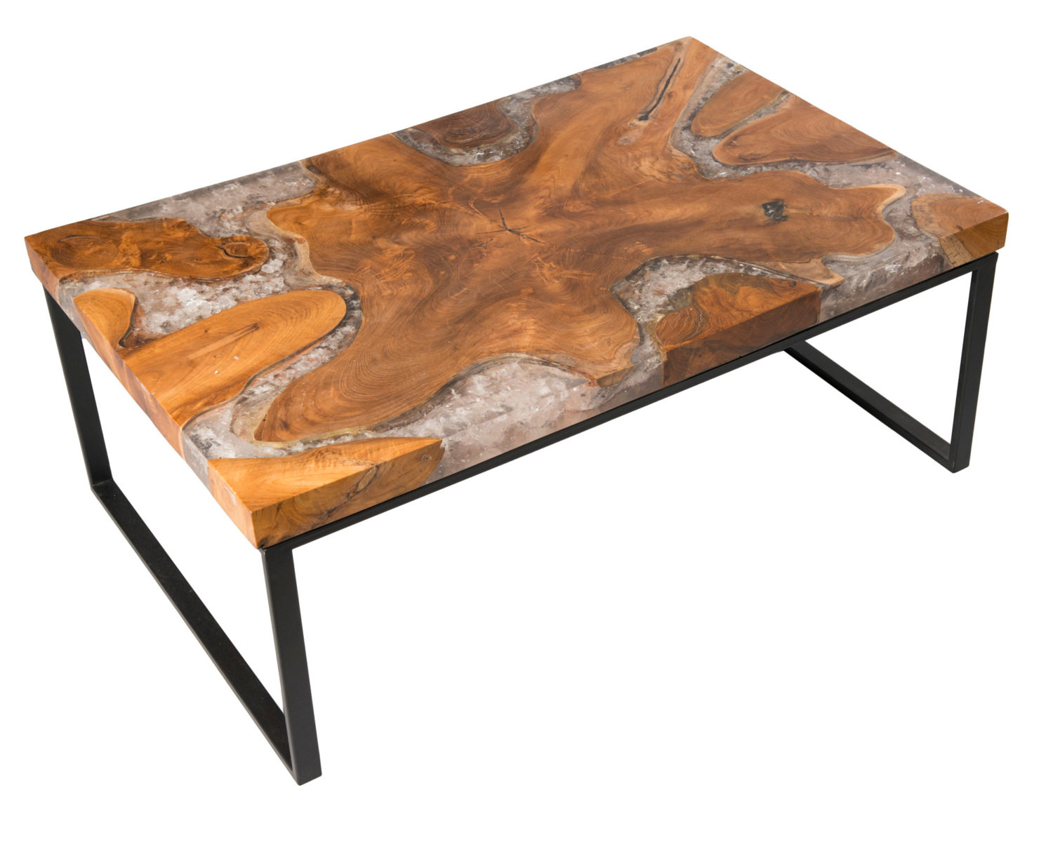 Best ideas about Resin Coffee Table . Save or Pin Teak Root Resin Coffee Table Now.