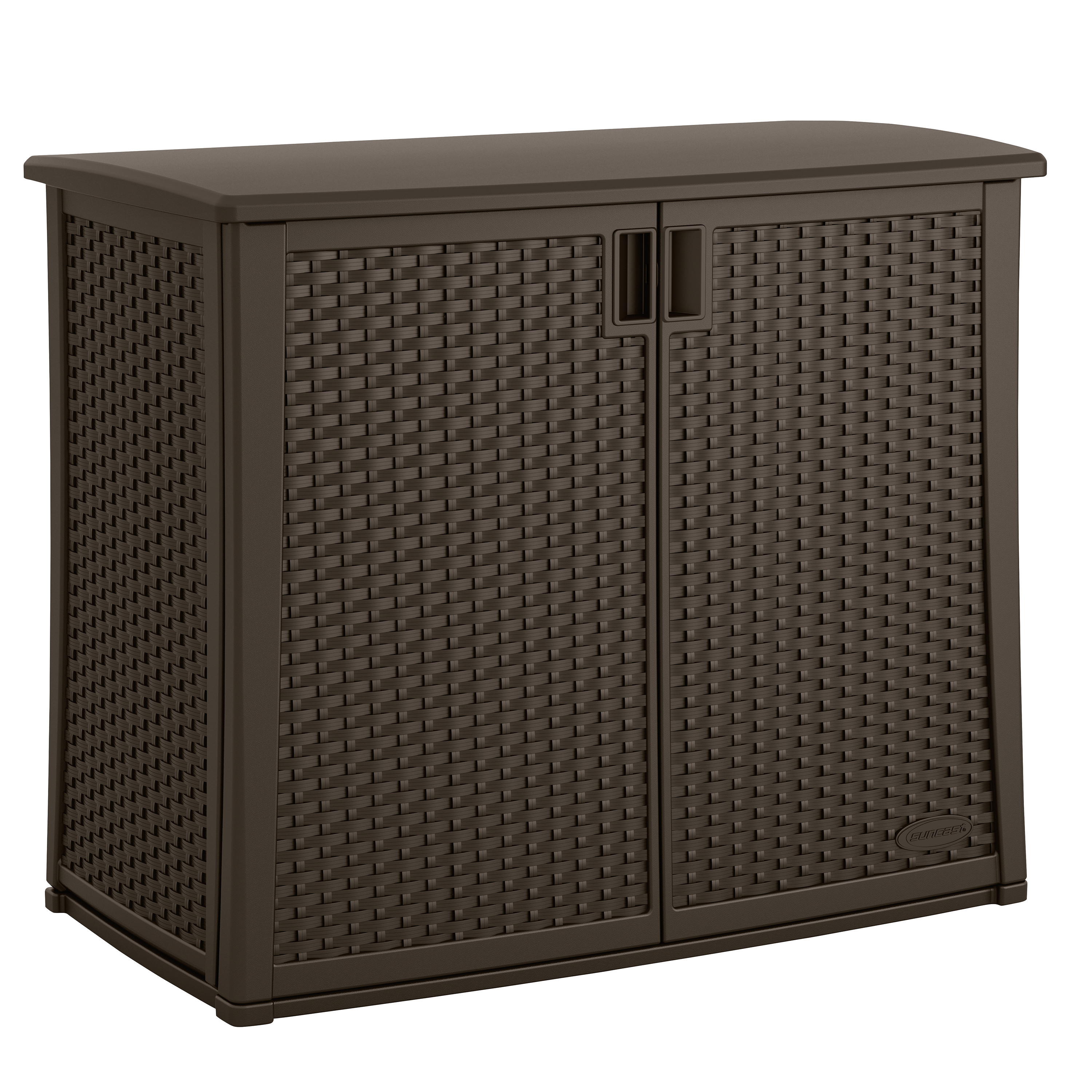 Best ideas about Resin Storage Cabinet . Save or Pin Suncast 97 Gallon Resin Storage Cabinet & Reviews Now.