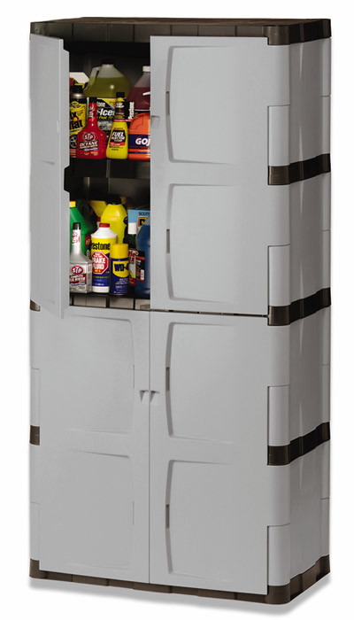 Best ideas about Resin Storage Cabinet . Save or Pin Rubbermaid 7083 72 Inch Four Shelf Double Door Resin Now.