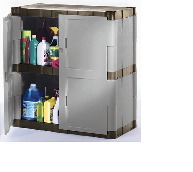 Best ideas about Resin Storage Cabinet . Save or Pin Rubbermaid Garage Resin Storage Cabinet Base Now.