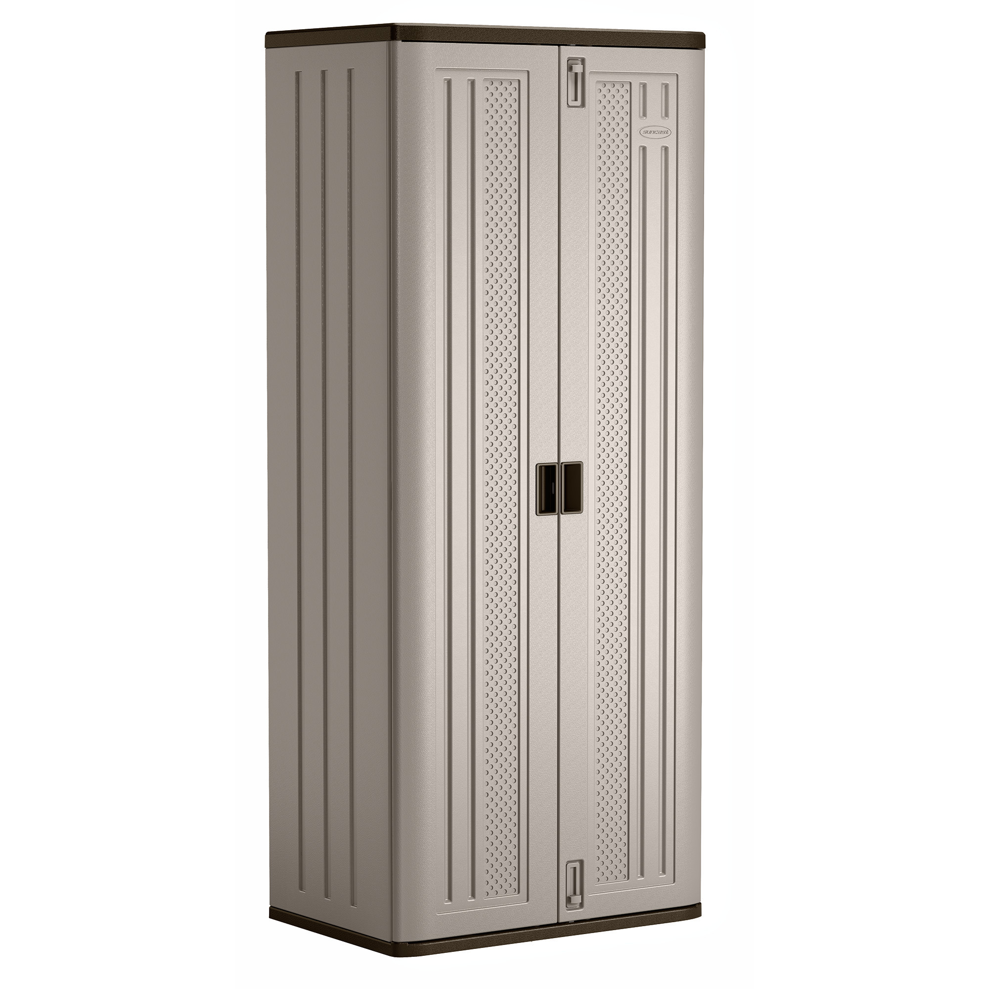 Best ideas about Resin Storage Cabinet . Save or Pin Suncast Tall Resin Storage Cabinet BMC7200 Walmart Now.