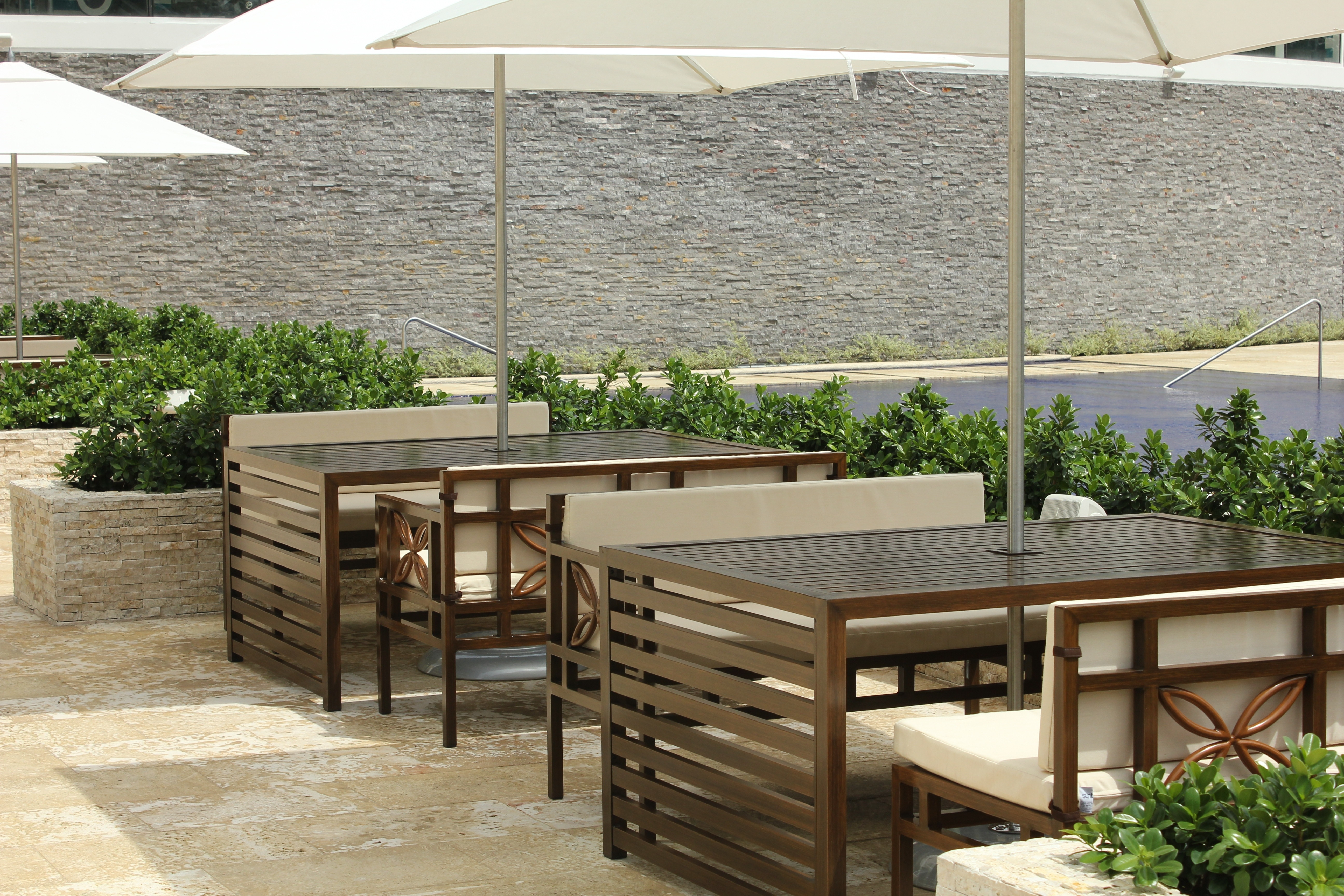 Best ideas about Restaurant Patio Furniture . Save or Pin Great mercial Outdoor Dining Furniture — Bistrodre Now.