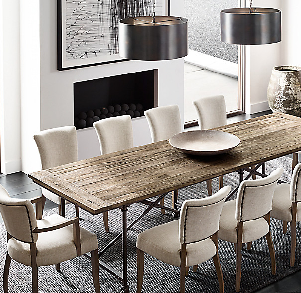 Best ideas about Restoration Hardware Dining Table . Save or Pin Flatiron Rectangular Dining Table Now.