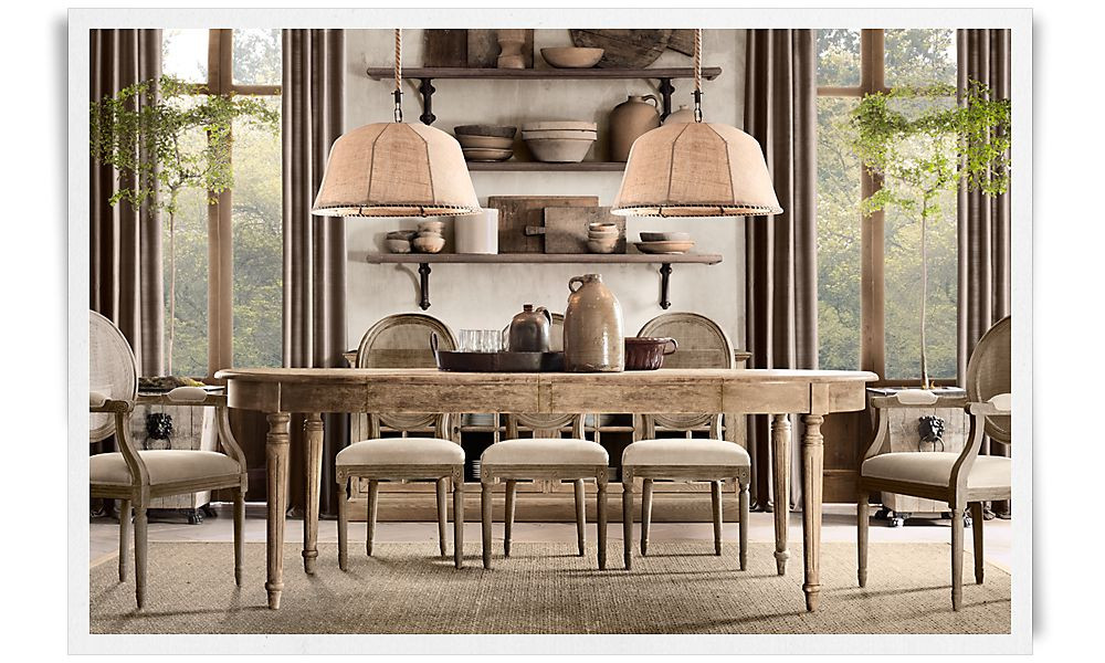 Best ideas about Restoration Hardware Dining Table . Save or Pin A Deconstructed Home by Restoration Hardware Now.