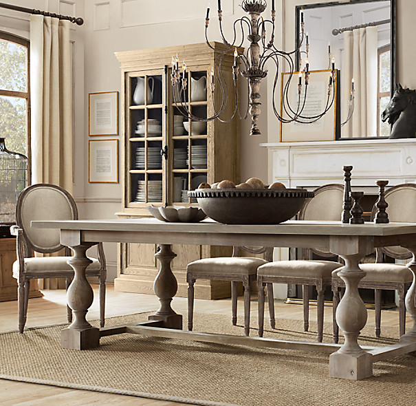 Best ideas about Restoration Hardware Dining Table . Save or Pin 17th C Monastery Rectangular Dining Table Now.