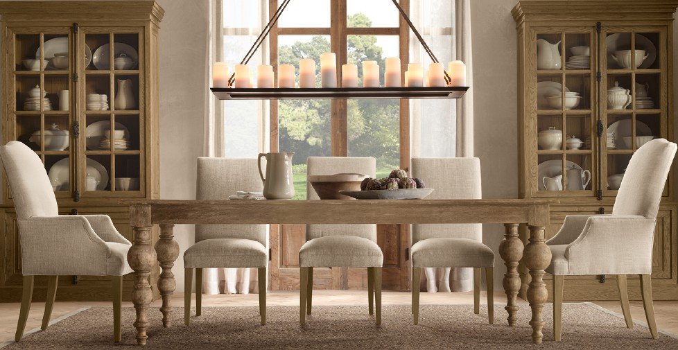 Best ideas about Restoration Hardware Dining Table . Save or Pin DIY Harvest Table Now.