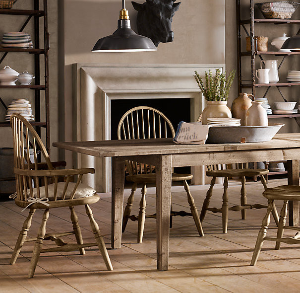 Best ideas about Restoration Hardware Dining Table . Save or Pin The Fat Hydrangea Knock off Restoration Hardware Dining Now.