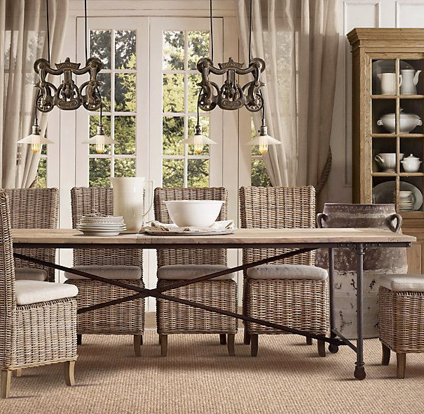 Best ideas about Restoration Hardware Dining Table . Save or Pin My Hunt for the Perfect Kitchen Table Now.
