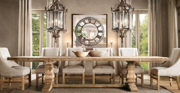 Best ideas about Restoration Hardware Dining Table . Save or Pin Restoration Hardware dining room Now.