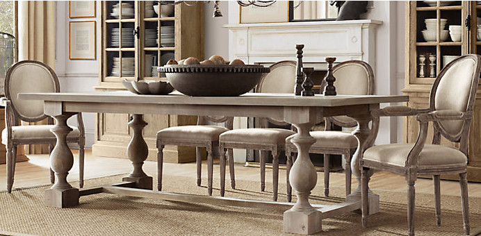 Best ideas about Restoration Hardware Dining Table . Save or Pin Eclectic Inspirations Best of the Best March & April Now.