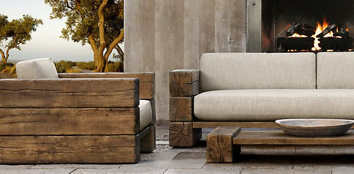 Best ideas about Restoration Hardware Outdoor Furniture . Save or Pin COPYING RESTORATION HARDWARE FURNITURE Now.