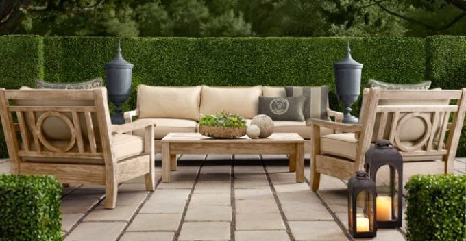 Best ideas about Restoration Hardware Outdoor Furniture . Save or Pin Cleaning & Sealing Outdoor Teak Furniture Shine Your Light Now.