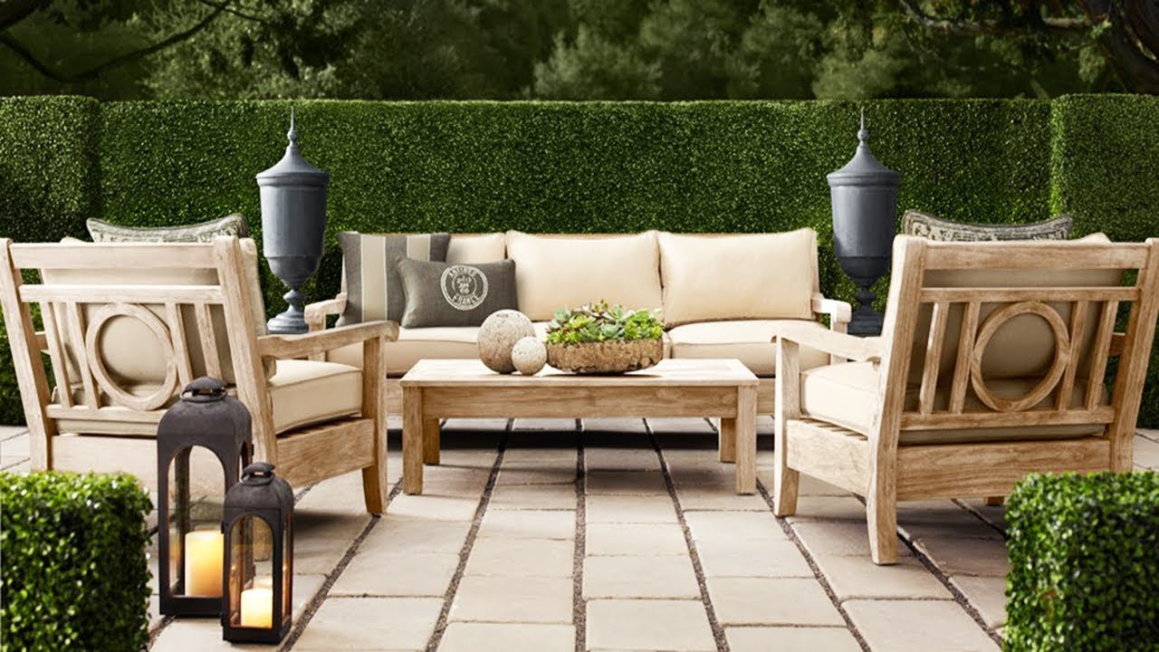 Best ideas about Restoration Hardware Outdoor Furniture . Save or Pin Restoration Hardware Outdoor Furniture Now.