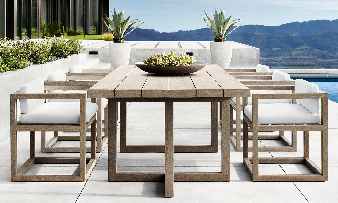 Best ideas about Restoration Hardware Outdoor Furniture . Save or Pin Barlas Baylar Debuts Outdoor Furniture Line for Now.