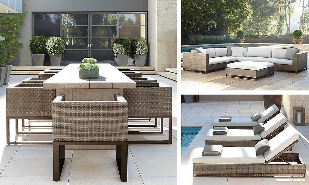 Best ideas about Restoration Hardware Outdoor Furniture . Save or Pin Outdoor RH Modern Restoration Hardware Now.