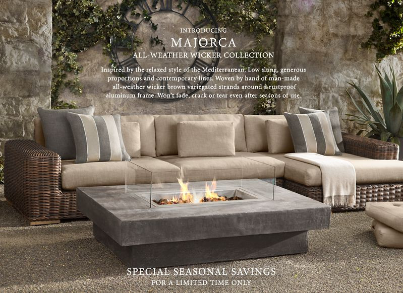 Best ideas about Restoration Hardware Outdoor Furniture . Save or Pin LDESIGN Outdoor Furniture Now.