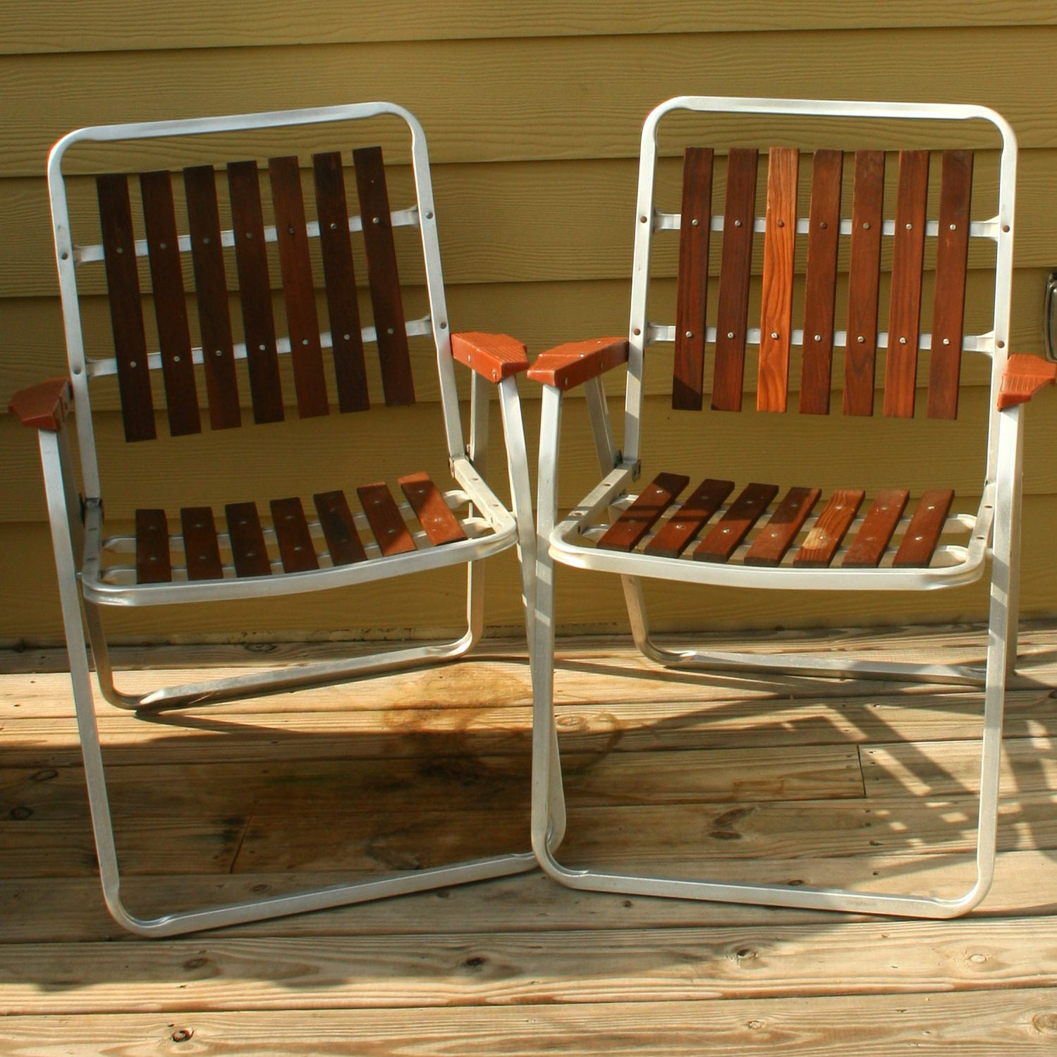 Best ideas about Retro Patio Furniture . Save or Pin Vintage Folding Lawn Chairs Mid Century Modern by Now.