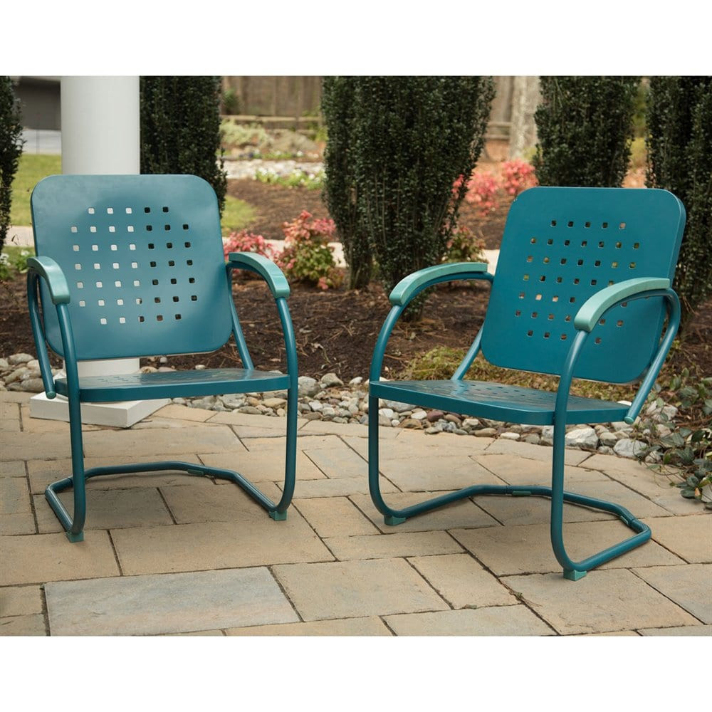 Best ideas about Retro Patio Furniture . Save or Pin Hanover Outdoor Furniture RETRO2PC Retro Patio Dining Now.