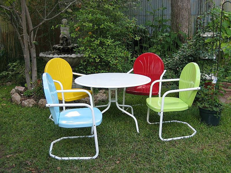 Best ideas about Retro Patio Furniture . Save or Pin Vixen Von Vintage Summertime Retro Patio Now.