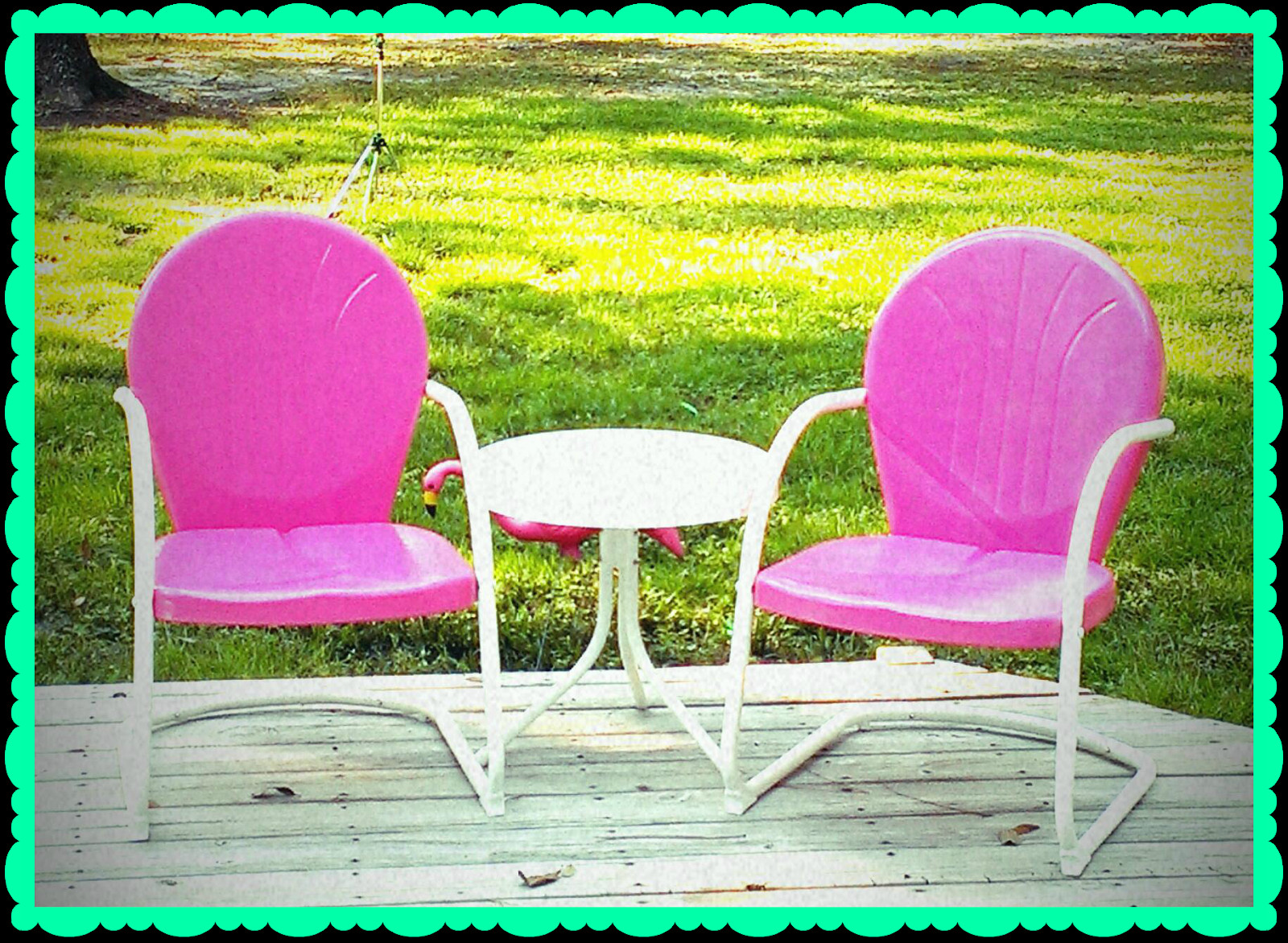 Best ideas about Retro Patio Furniture . Save or Pin The Sassy Southern Peach Retro Patio Furniture Now.
