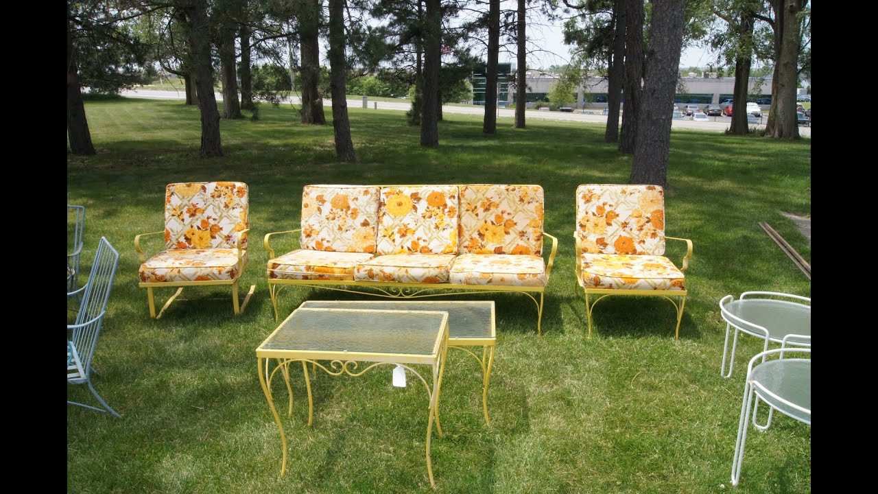 Best ideas about Retro Patio Furniture . Save or Pin Vintage Patio Chairs Vintage Aluminum Patio Chairs Now.
